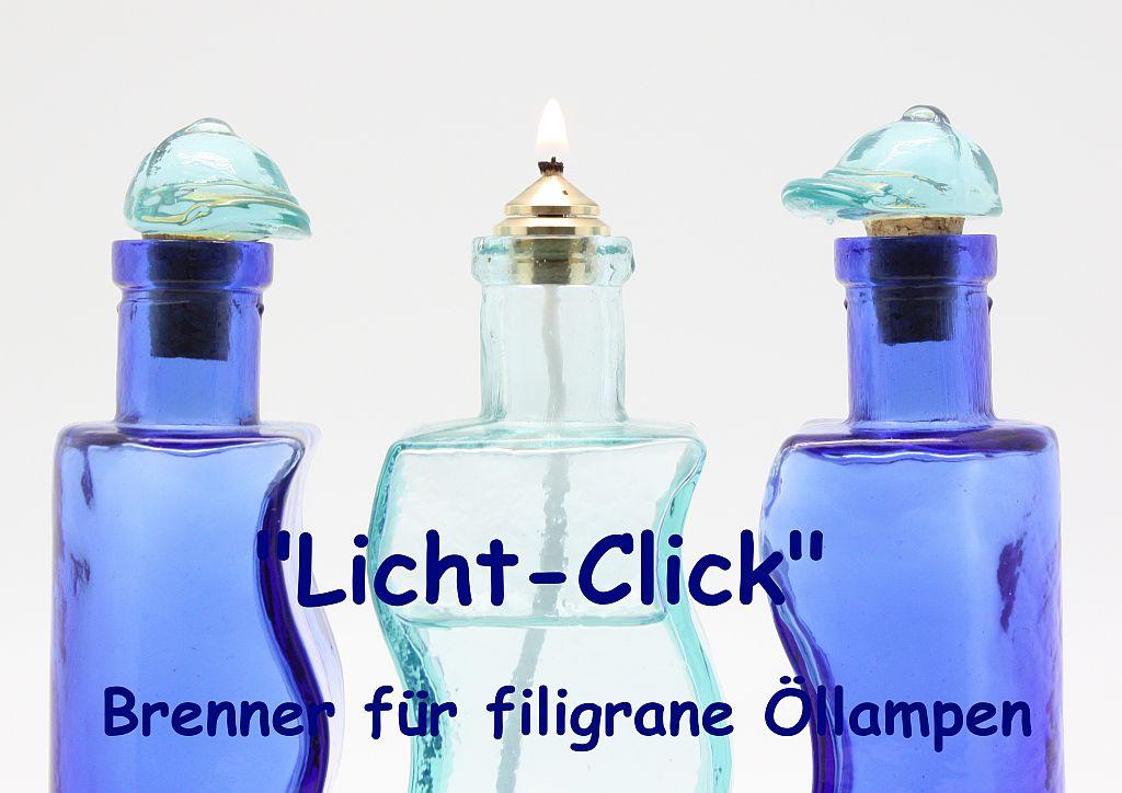 Licht-Click Brenner